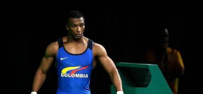 Óscar Figueroa consiguió el bronce en el envión del Mundial de Pesas