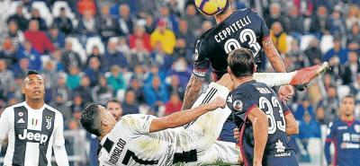 Juventus cumple con una brillante temporada, no solo en la Liga italiana, donde va camino a otro título, sino en la Liga de Campeones, donde espera volver a lo más alto del balompié europeo de la mano de Cristiana Ronaldo.