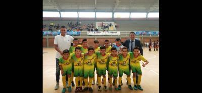 Este es el equipo que representó a Santander en el Zonal eliminatorio del babymicro que se disputó en Madrid, Cundinamarca, en el que logró imponer su juego para vencer a todos sus rivales y quedarse con el cupo para la final nacional del Festival de Festivales en Medellín en enero 2019