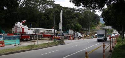 Cierres parciales en la Autopista por obras del intercambiador Papi Quiero Piña