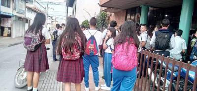 Las denuncias provienen del colegio Humberto Gómez Nigrinis y Centro de Comercio.