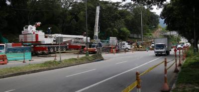 El contratista programó desvíos en la zona para minimizar las congestiones. La movilización del transporte de carga no tendrá ninguna afectación porque se van a conectar las dos orejas.