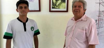 Estudiantes de instituciones educativas a nivel departamental enviaban dibujos con una temática en común: el calentamiento global. Lincoln Bravo Hernández resultó ganador.