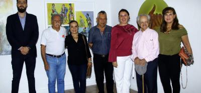 Julián Villamizar Rincón, Orlando Morales, Clemencia Hernández, Carlos Prada Hernández, Daniela Mancilla Ardila, Andrés Plata Rueda y Luz Amparo Moreno.