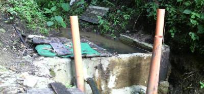 Algunos productores de trucha de San Isidro habrían cambiado el cauce de la quebrada El Tambo, lo que afectó los acueductos veredales.
