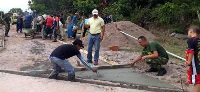 La inversión que se hizo fue de un millón 800 mil pesos recolectados a través de eventos comunitarios.