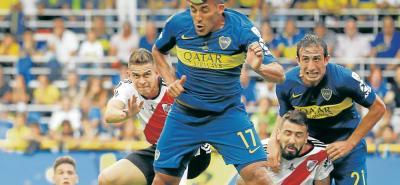 En un vibrante partido, Boca Juniors y River Plate empataron 2-2 en el primer partido de la gran final de la Copa Libertadores de América, que se disputó en La Bombonera. El próximo encuentro se jugará el 24 de noviembre en el Monumental.