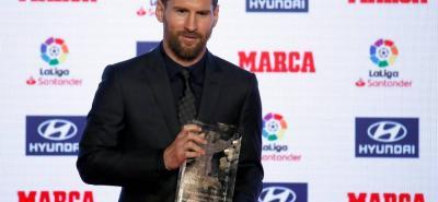 Lionel Messi consiguió el primer lugar de la tabla de goleadores de la Liga española en cinco oportunidades y ya igualó, entre otros, a Hugo Sánchez y Alfredo Di Stéfano.