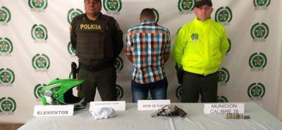 Alias 'Bolón' fue detenido en las últimas horas en el barrio Provivienda.