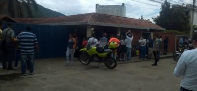 El asesinato se registró el pasado viernes en el colegio Técnico Nuestra Señora de La Presentación, en San Gil.