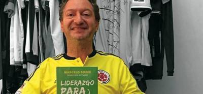 Marcelo Roffé, el psicólogo de la selección Colombia en el Mundial de Brasil 2014, se encuentra en Bucaramanga para dictar una conferencia.