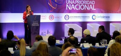 Viceministra de Comercio Exterior, Laura Valdivieso Jiménez.