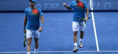 En semifinales del Torneo de Maestros se terminó la temporada 2018 para la dupla colombiana conformada por Juan Sebastián Cabal y Robert Farah, instancia en la que perdieron ante la pareja francesa de Pierre Herbert y Nicolás Mahut.