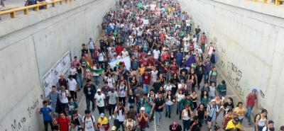 La marcha que arranca hoy, 18 de noviembre, se espera culmine en la capital del país antes del 28 de noviembre cuando se realizará la toma de Bogotá.