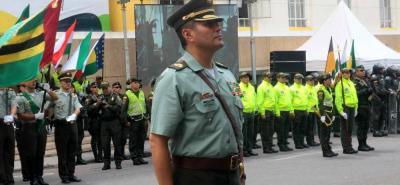 El coronel Carlos Cabrera Suárez tiene una experiencia de 26 años en la Policía Nacional.