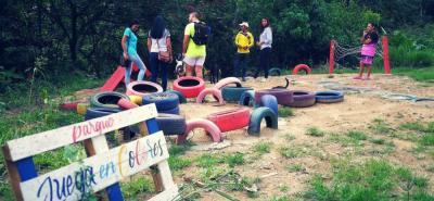 Los estudiantes quieren brindarle a la comunidad infantil un escenario de sano esparcimiento.