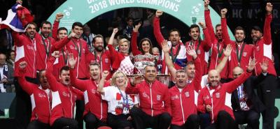 Croacia logró ayer su segundo título en la Copa Davis de tenis, al superar a Francia en la final jugada en Lille.