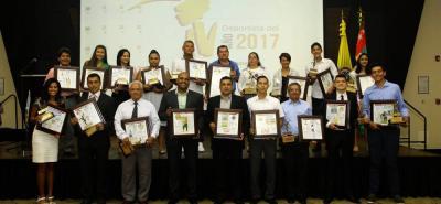 La ceremonia del Deportista del Año - Vanguardia Liberal 2017, realizada el 14 de diciembre, dejó como gran ganadora a la ciclista Martha Bayona Pineda, proclamada como la mejor de la temporada, pero además dejó 17 galardonados más.