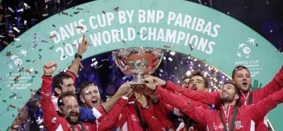 Croacia se vengó de Francia y se quedó con el título de la Copa Davis