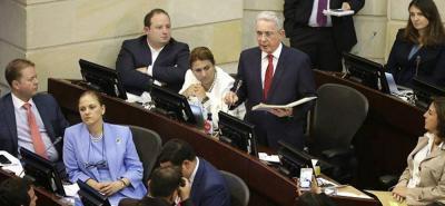"""""""Son un mal ejemplo"""", así criticó Álvaro Uribe a los acuerdos de paz con las Farc"""