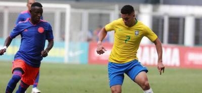 Primer amistoso sub 20 entre Brasil y Colombia empató 0-0