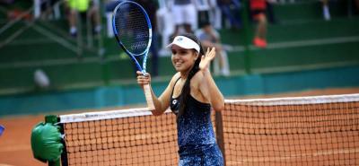 María Camila Osorio, finalista del torneo IFT de Estados Unidos