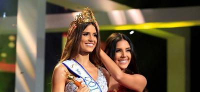 Gabriela Tafur es la nueva señorita Colombia