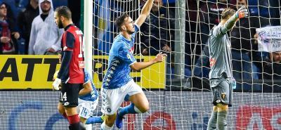 El Napoli remonta en la lluvia de Génova con un gol de Fabián Ruiz