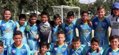Alrededor de 150 niños de Bucaramanga hacen parte de la escuela de formación