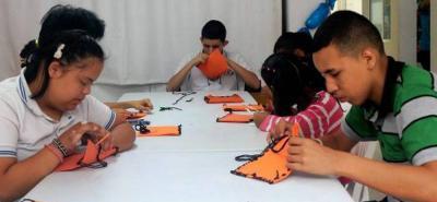Trabajando en equipo por los niños del norte de Bucaramanga