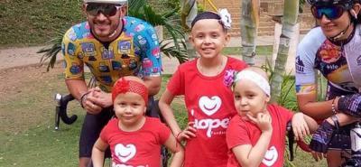 Una rodada por los niños con cáncer
