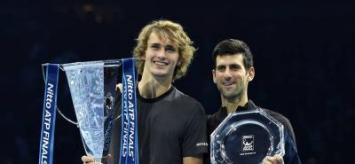 Con tan solo 21 años, Alexander Zverev se coronó nuevo campeón en las Nitto ATP Finals