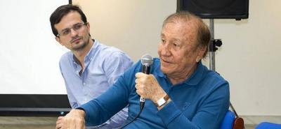 Manolo Azuero ha hecho parte del gabinete de gobierno desde el comienzo de la administración de Rodolfo Hernández al frente de la Alcaldía de Bucaramanga.