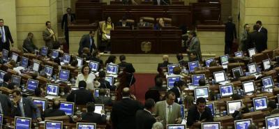 El senador del Centro Democrático Ciro Ramírez es el coordinador ponente de la ley bianual de regalías. El corporado informó que espera votarla en la sesión de hoy miércoles.