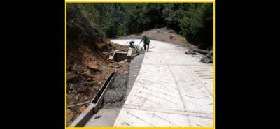 La obra hace parte de la red vial secundaria del Contrato Plan Santander, que ejecuta el Gobierno Departamental con el apoyo de la Nación.