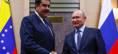 """Los mandatarios también firmaron un contrato para garantizar el suministro de 600.000 toneladas de trigo """"para el pan para el pueblo venezolano"""", según explicó el presidente venezolano."""
