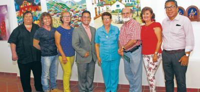 Reinaldo Gamboa, Gonzalo Rey, Magdalena Rojas, Luis Enrique Joya, Carmen Cecilia Díaz de Almeida, Mario Gómez Díaz, Nidia Ramírez Monroy y Luis Duarte.