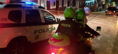 La Seccional de Investigación Criminal, Sijín, se encargó de las labores de levantamiento del cadáver.