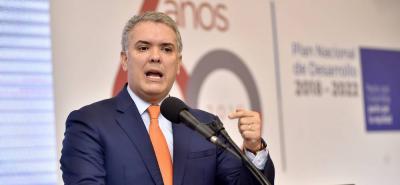 Iván Duque pide que se modernice el Sistema Interamericano de Derechos Humanos