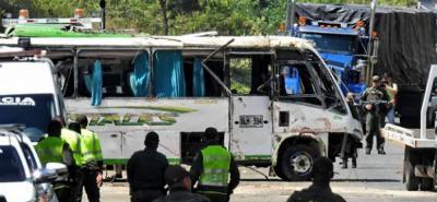 Así recuerdan la tragedia del bus que se volcó y dejó nueve muertos en Yotoco