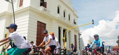 La idea es que se dispongan estaciones de bicis, para que la ciudadanía se movilice de una a otra.