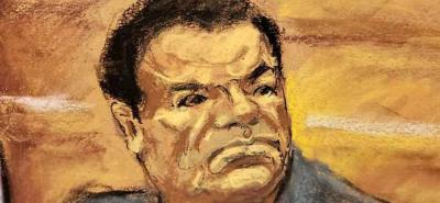 Alias Chupeta declaró en juicio contra 'El Chapo' Guzmán