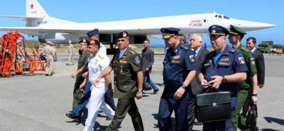 Rusia envió bombarderos a Venezuela para ejercicios de defensa