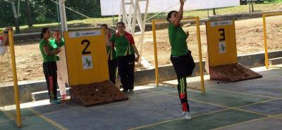 Tejo femenino de Santander le apunta al oro en los Juegos Nacionales