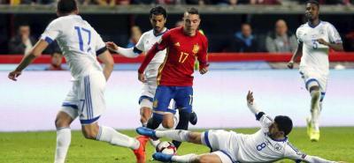 Reviva la goleada de España a Israel en las eliminatorias a Rusia
