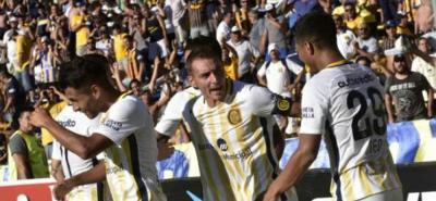 Teófilo Gutiérrez marcó el gol de la victoria ante Tigres en Argentina