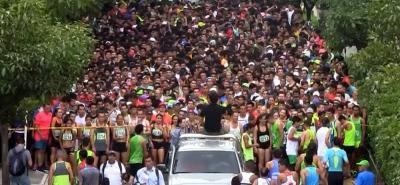 3.842 personas asistieron al evento deportivo.
