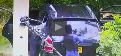 Video registró balacera durante atraco que dejó un policía muerto y cinco heridos
