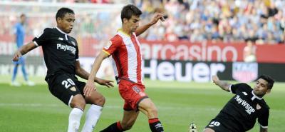Vea el gol que Muriel marcó en el triunfo del Sevilla