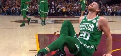 ACinco minutos duró el debut de un jugador de la NBA tras una grave lesión.